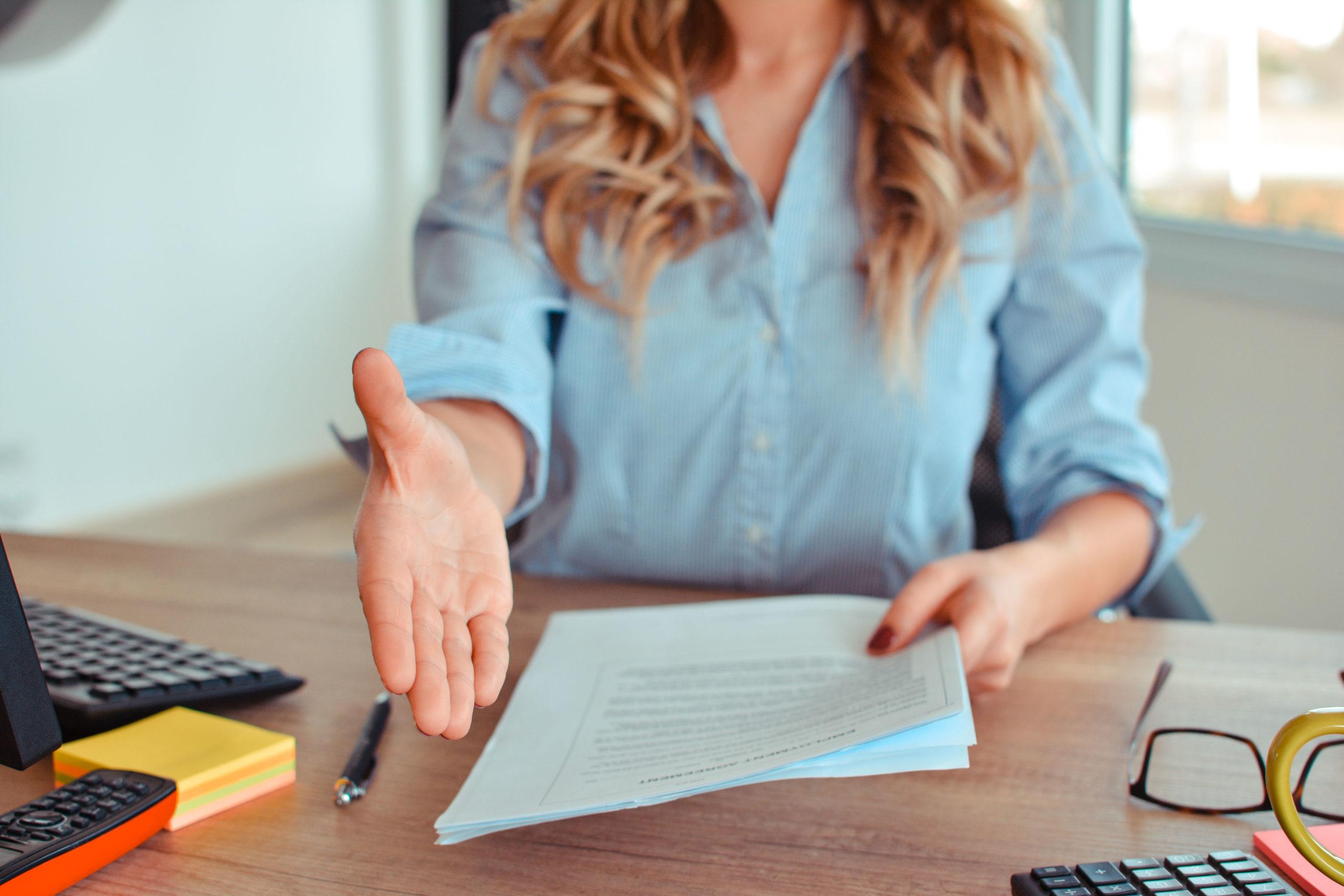 Een goede indruk achterlaten tijdens een sollicitatiegesprek